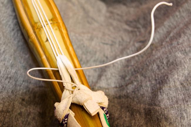 nudo del tsuru. Paso 5